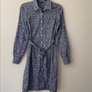 Brooks Brothers Cotton Floral Shirtdress
